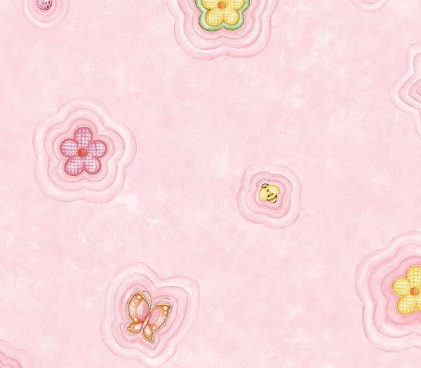 Interior-Place-Pink-Busy-Bee-Quilt-wallpaper-wp5806941