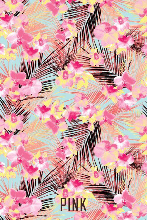 Iphone-wallpaper-floral-pink-victoria-secret-cool-summer-fun-flowers-nature-heat-wallpaper-wp4807781