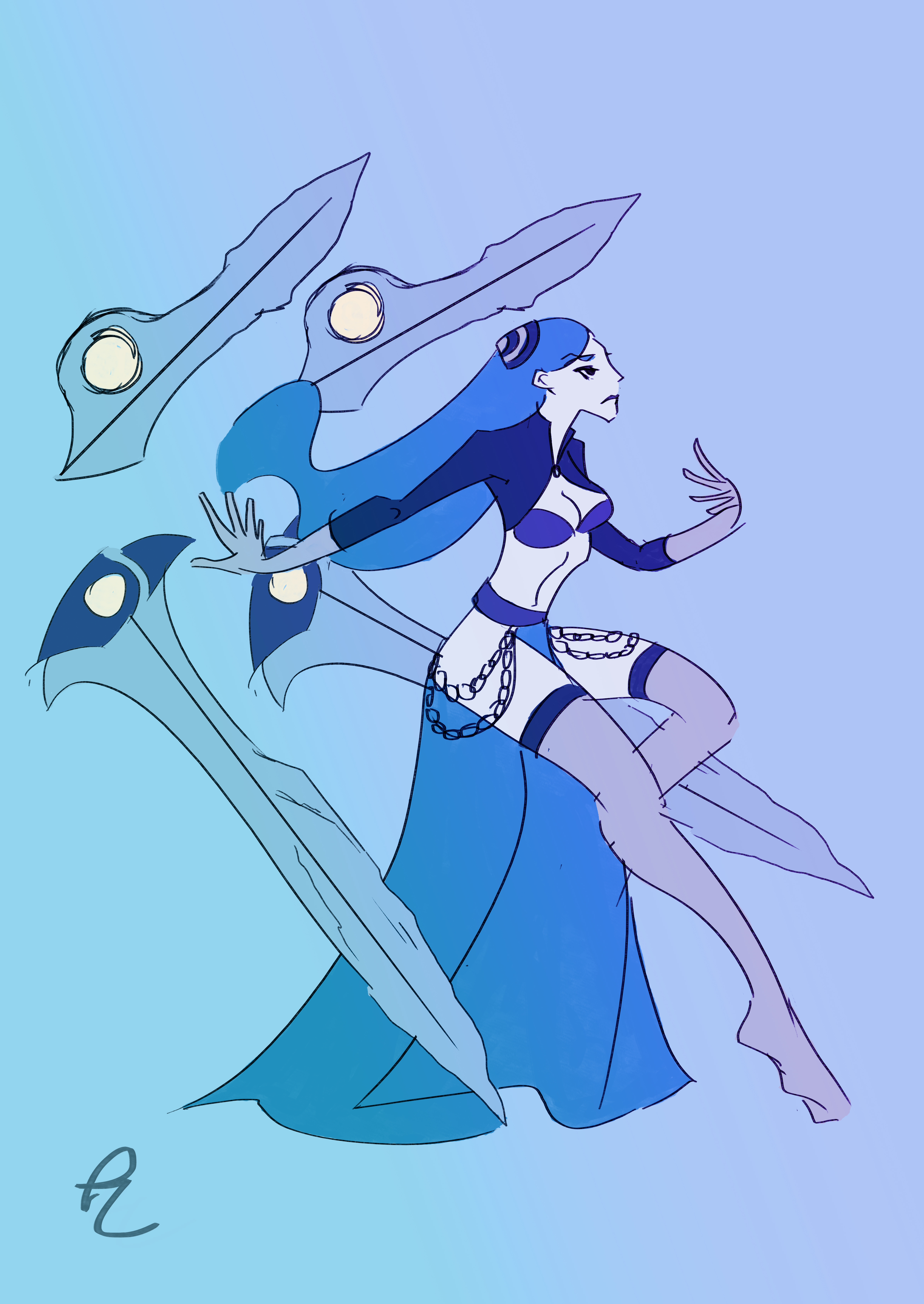 Irelia-costume-inspired-by-Frostblade-skin-and-Persian-Sword-Dancer-wallpaper-wp5009197