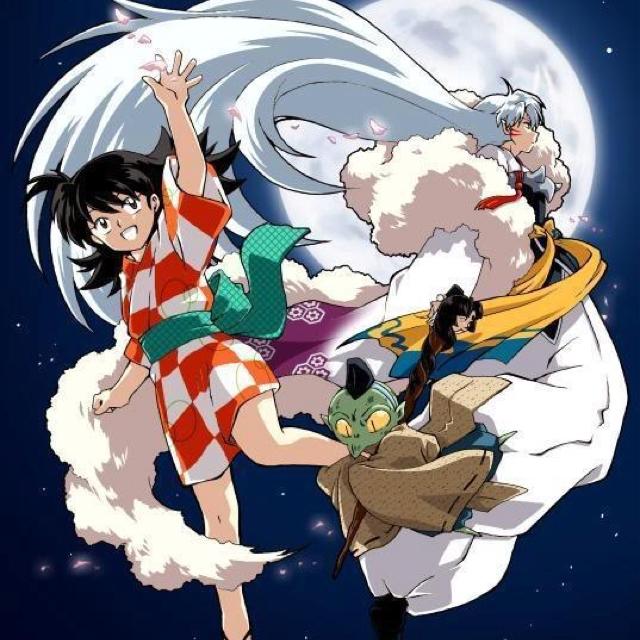 Sesshomaru And Rin Wallpaper