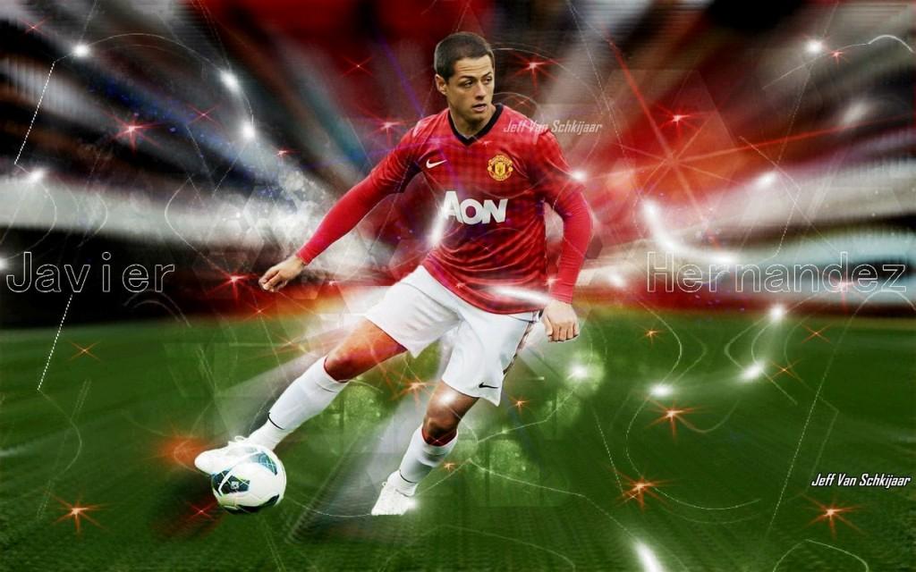 Javier-Hernandez-Chicharito-Manchester-United-HD-Best-wallpaper-wp5208128