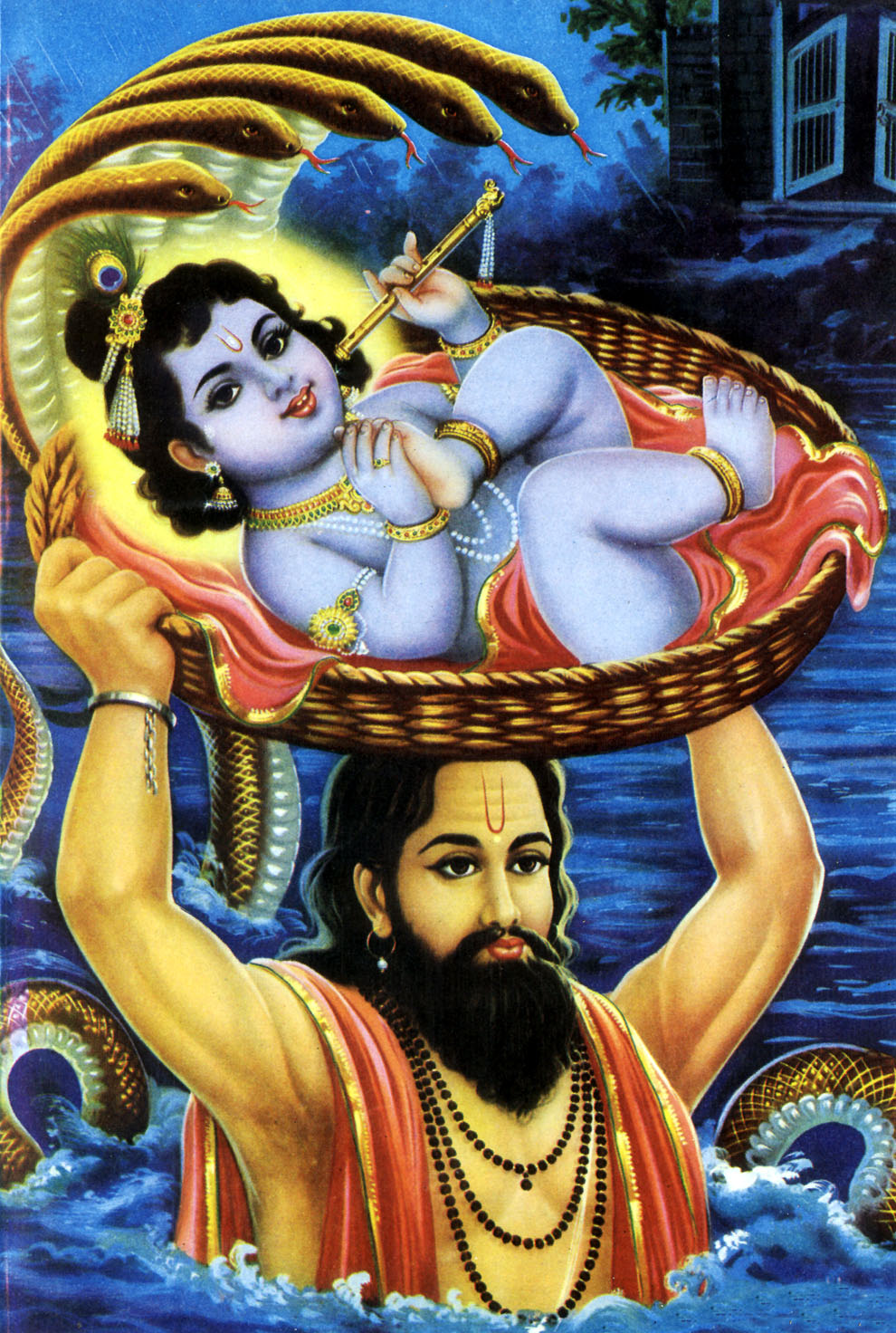 story of the lord krishna