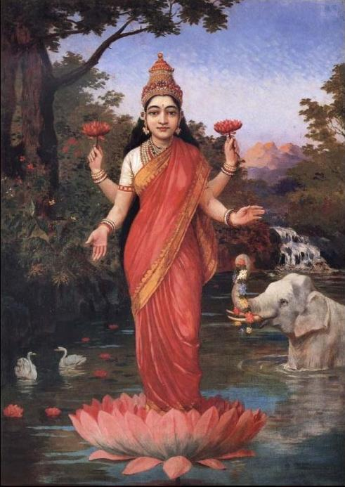 Lakshmi-by-Ravi-Varma-wallpaper-wp4607668-1
