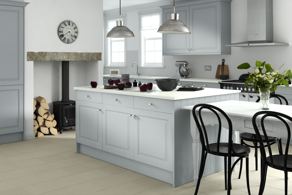 Like-grey-cabinets-white-top-Wren-Kitchens-Linda-Barker-collection-wallpaper-wp5606399
