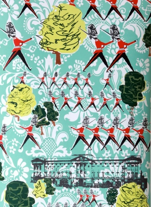Lizzie-Allen-Changing-Guards-Panel-from-Little-Baby-Company-wallpaper-wp5406762