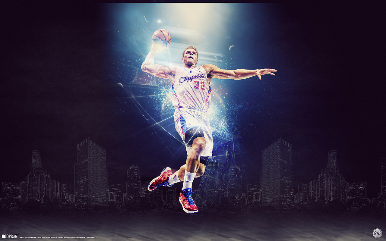 Los-Angeles-Clippers-Blake-Griffin-NBA-from-HoopsArt-com-wallpaper-wp5406812