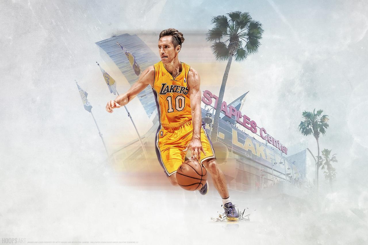 Los-Angeles-Lakers-Steve-Nash-NBA-from-HoopsArt-com-wallpaper-wp5406813