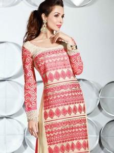 Malaika-Arora-Khan-Cream-And-Pink-Sequins-Work-Churidar-Suit-wallpaper-wp5209124