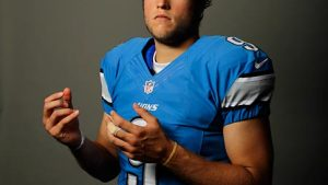 Matt Stafford tapetti