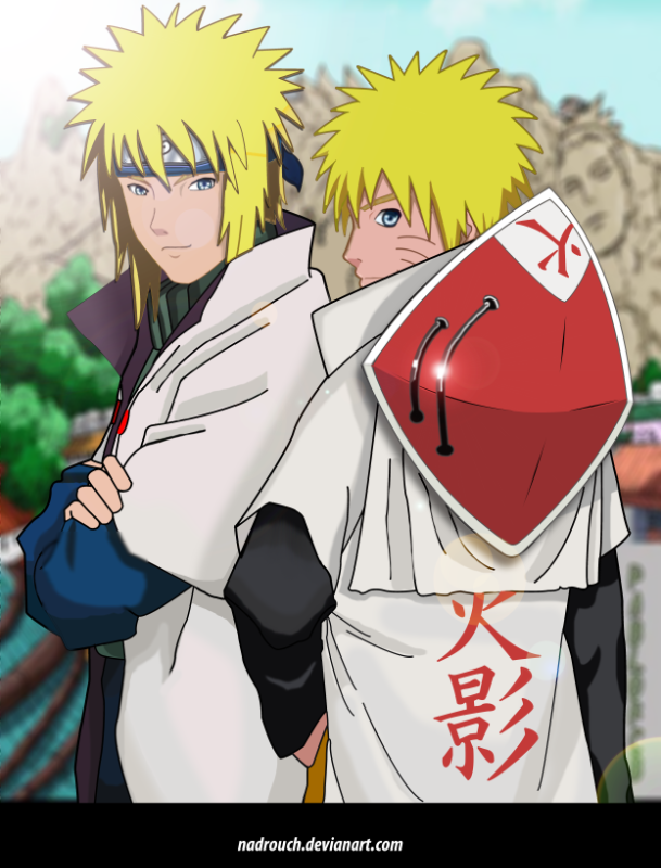 Minato-and-Naruto-fan-art-minato-and-hokage-naruto-by-nadrouch-on-deviantART-wallpaper-wp5209351
