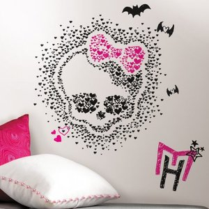 Monster-High-Heart-Skullette-Peel-and-Stick-Wall-Decals-wallpaper-wp5606832