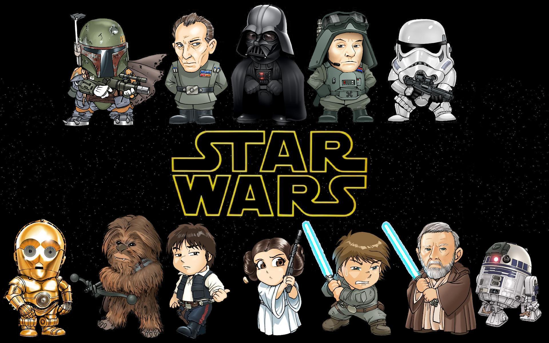 Movie-Star-Wars-Boba-Fett-Darth-Vader-C-PO-Chewbacca-Han-Solo-Princess-Leia-R-D-Obi-Wan-Kenobi-wallpaper-wp3408845