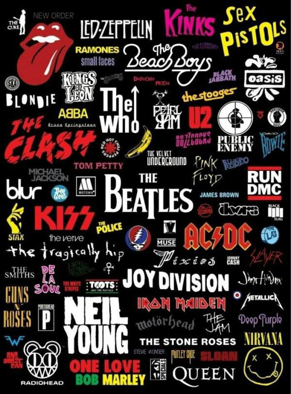 Classic Rock   Music  Collage   Classic rock songs