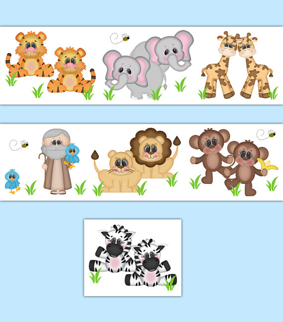 NOAHS-ARK-NURSERY-Decal-Border-Wall-Art-Safari-Animal-Stickers-Neutral-Boy-Girl-Jungle-Room-Decor-Ba-wallpaper-wp5209841