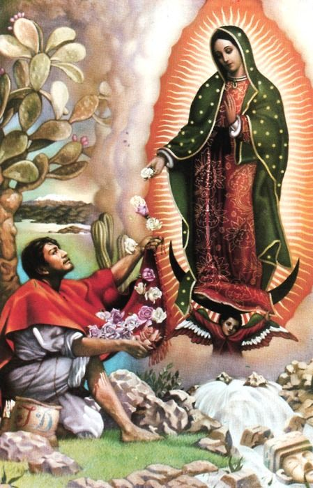 virgin marys appearance to saint juan diego
