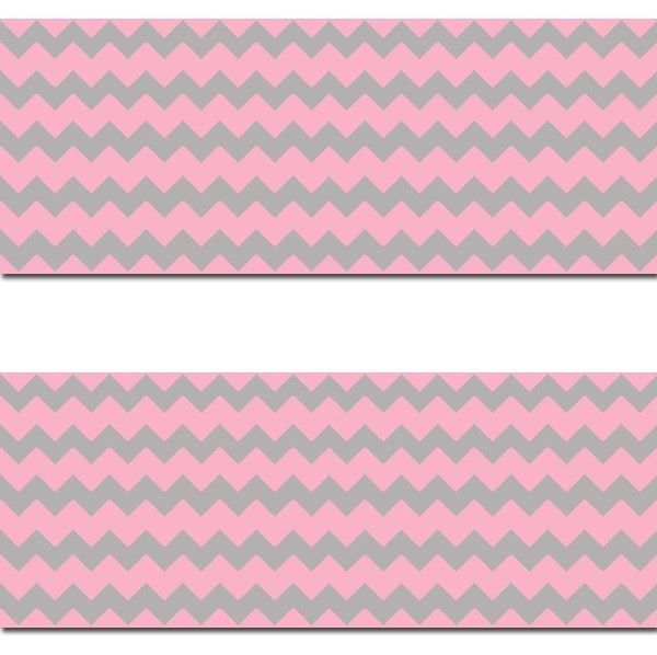 Pink-Grey-Chevron-Border-Wall-Art-Decals-Baby-Girl-Nursery-Room-Decor-decampstudios-wallpaper-wp52010303