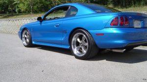 1994 1998 SN95 Mustang tapet