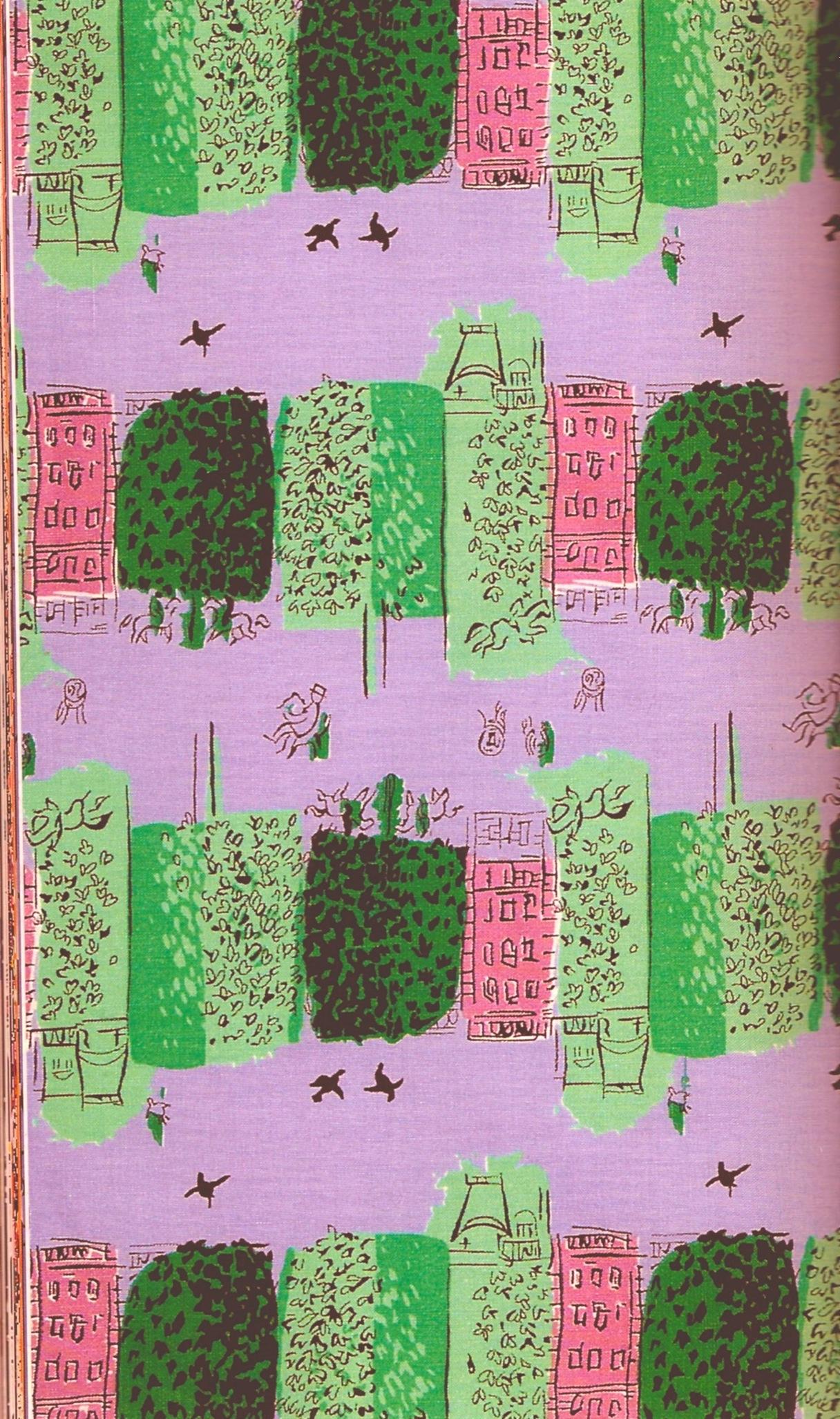 Raoul-Dufy-s-Le-Maronniers-for-Fuller-fabrics-wallpaper-wp428680