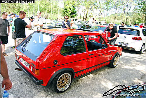 Red-VW-Golf-Mk-GTI-on-ATS-Wheels-on-the-W%C3%B6rthersee-Tour-wallpaper-wp52010645