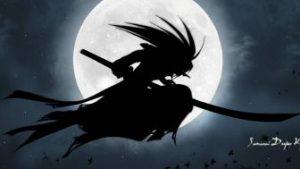 Samurai Deeper Kyo kertas dinding