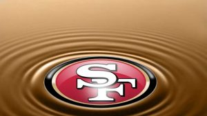 San Francisco 49ers voetbalteam wallpaper