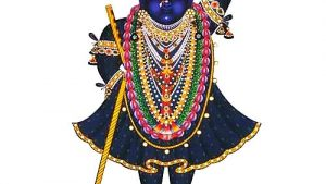 Jai Shree Krishna Tapete