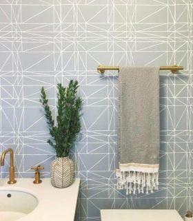 Bathrooms wallpaper