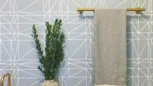 Bathrooms wallpaper