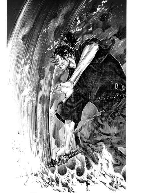 Sumi-Vagabond-Illustration-Collection-Fictional-account-of-the-legendary-samurai-Miyamoto-Musashi-wallpaper-wp50012459