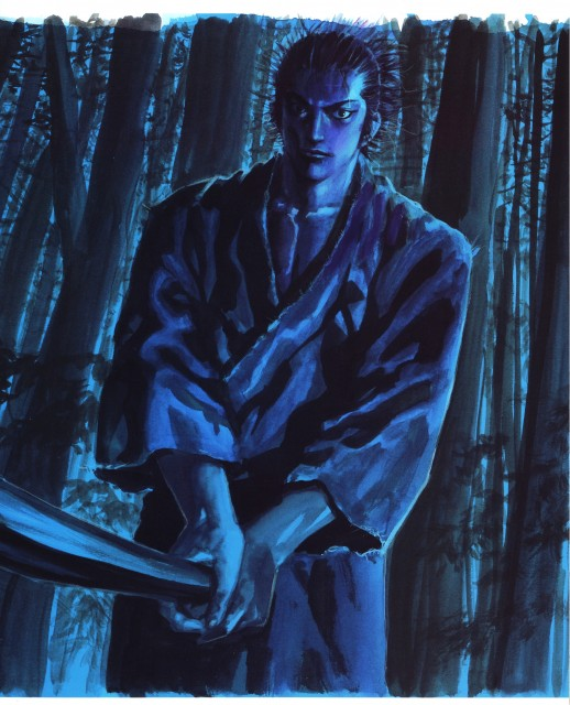 Takehiko-Inoue-Vagabond-Art-of-Vagabond-Water-Musashi-Miyamoto-Vagabond-wallpaper-wp500643