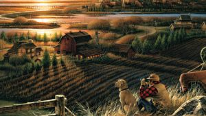 Terry Redlin tapet
