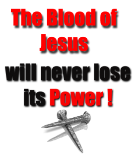 Ohhhh But The Blood of Jesus wallpaper