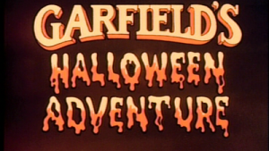 GARFIELD Halloween behang