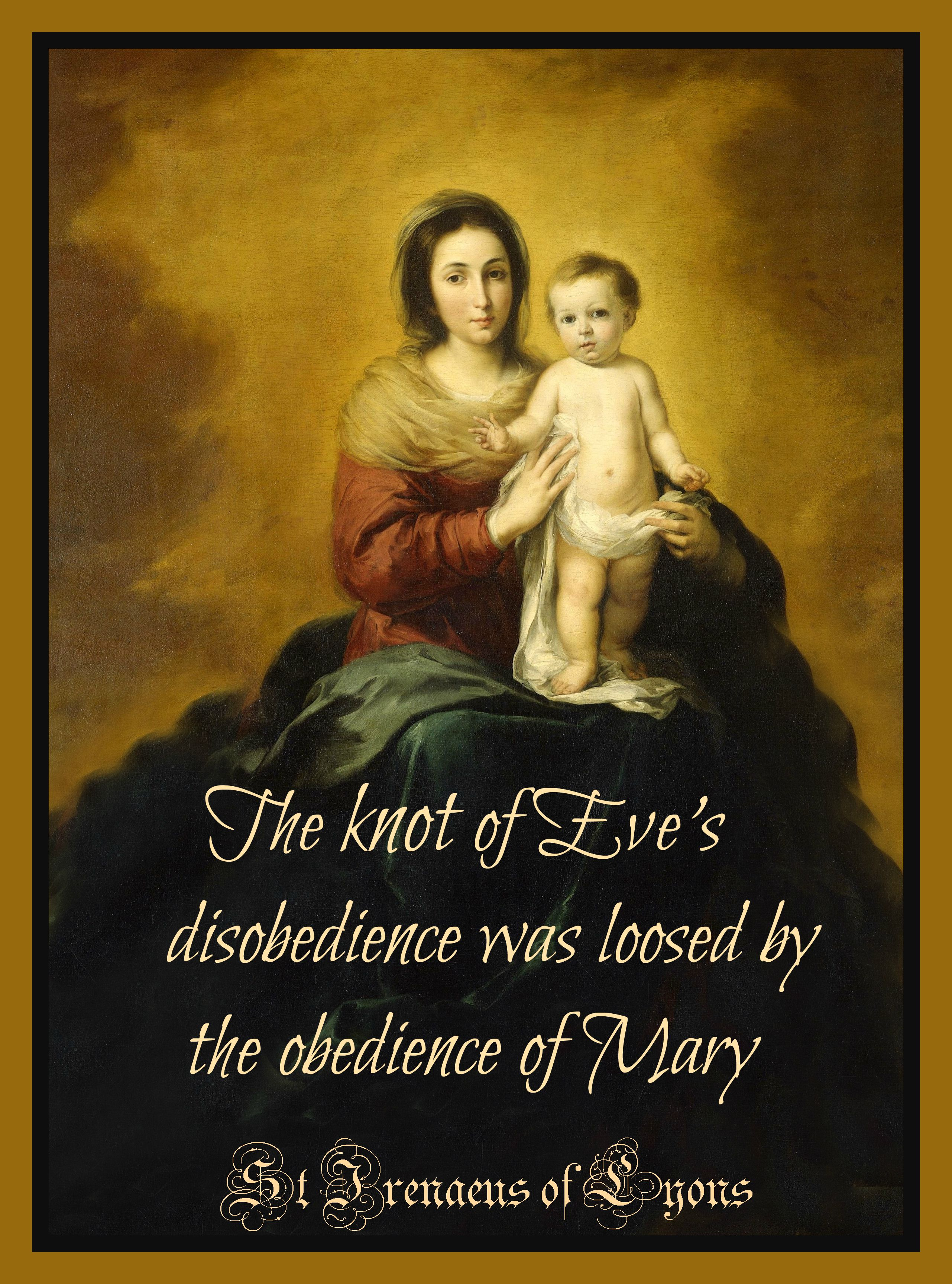 The Knot Of Eve S Disobedience Was Loosed