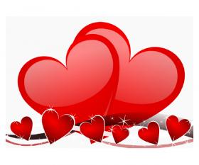 Hearts Roses wallpaper