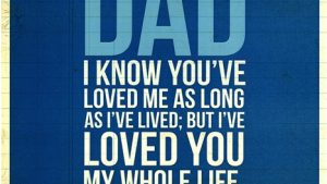 Love My Daddy!! behang