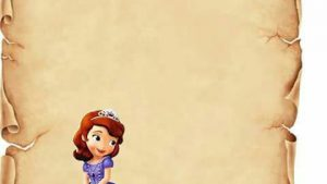 Princess Sofia Printables Tapete