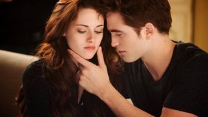 Bella en Edward wallpaper