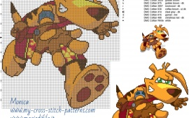 Ty-Ty-the-tasmanian-tiger-cross-stitch-pattern-wallpaper-wp500681