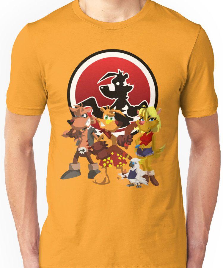 Ty-the-Tasmanian-Tiger-Uni-T-Shirt-wallpaper-wp50013389