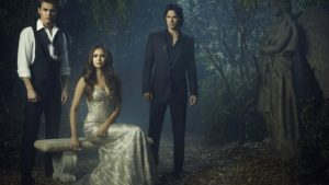 The Vampire Diaries affiches papier peint