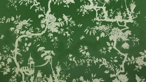 Chinoiserie en Fabric wallpaper