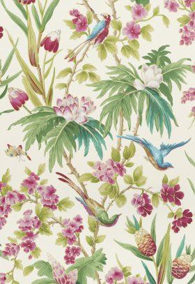 BIRDS BRANCHES wallpaper