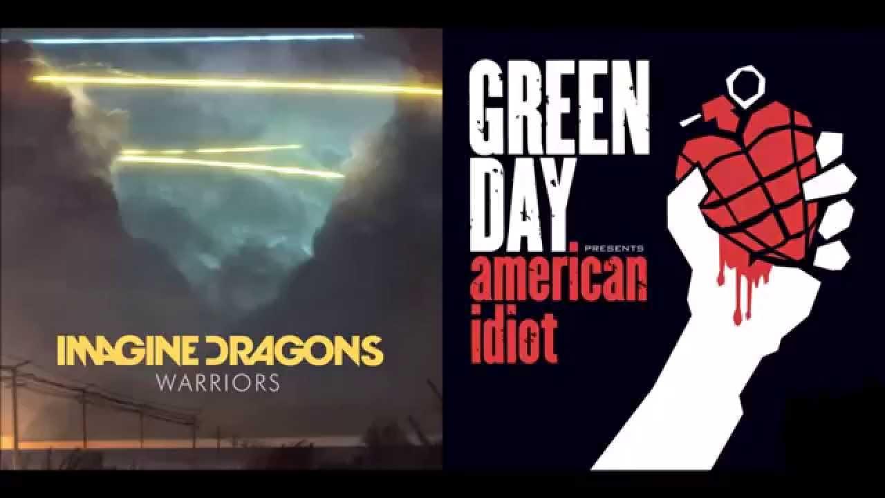 Warriors-on-Holiday-Imagine-Dragons-vs-Green-Day-Mashup-wallpaper-wp36012211