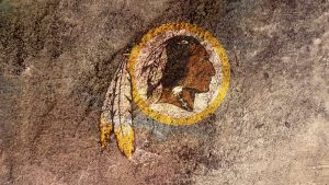 Washington Redskins kertas dinding
