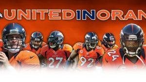 Broncos Timeline imagens parede