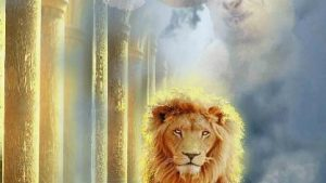 The Lion and The Lamb A Touching Depiction of LOVE 3 behang