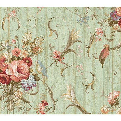 York-Wallcoverings-HA-Blue-Book-Parrots-with-Floral-B-https-www-amazon-com-dp-BHSEAKS-re-wallpaper-wp4210966