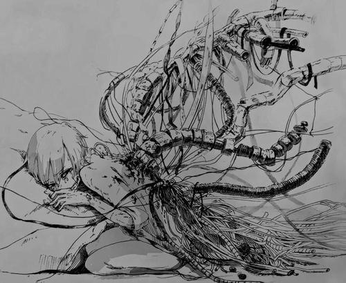 anime-anime-boy-black-and-white-dark-dark-anime-monochrome-sad-tokyo-ghoul-vintage-wallpaper-wp5602930