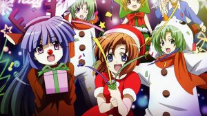 Anime Christmas wallpaper